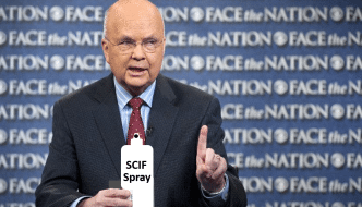"""SCIF Spray:  It's Like National Security, In A Can!"""