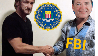 "Sean Penn Awarded ""Informant of the Year"" by FBI For El Chapo Capture"