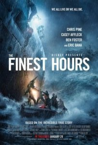 The Finest Hours, rated PG-13, in theaters January 29th