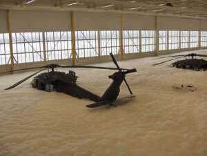 foam helicopter 160th bubble party