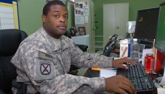 Best Chemical Officer in Army Spends Day Weeping at Desk