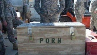 Soldier Thrilled to Find Porn Stash Still at Bagram