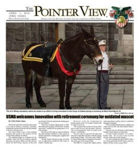 West Point retires mule