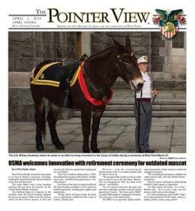 West Point retires mule