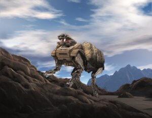West Point robot mule