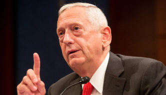 In a Vote of 1 to 0, Mattis Confirms Himself at Senate Armed Services Committee