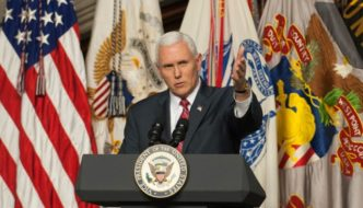 At West Point, Vice President Pence Usurps Constitutional Authority With Amnesty Plan