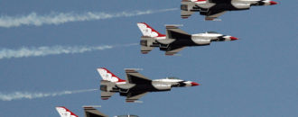 Trump to lead Thunderbird Super Bowl 51 Flyover